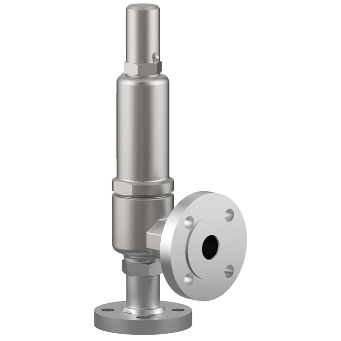 Type 06850: safety valve Type 06850 with slip on flanges