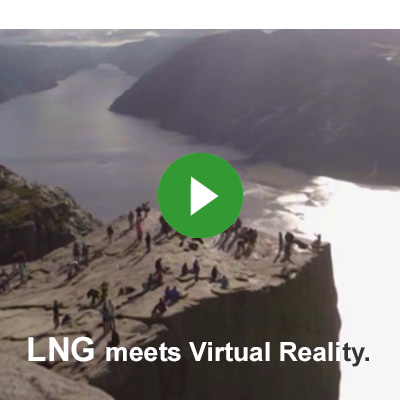 LNG meets Virtual Reality - watch it on youtube!