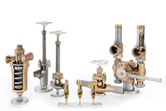Valves for cryogenic air gases