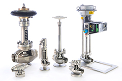 Valves for liquified natural gas (LNG)