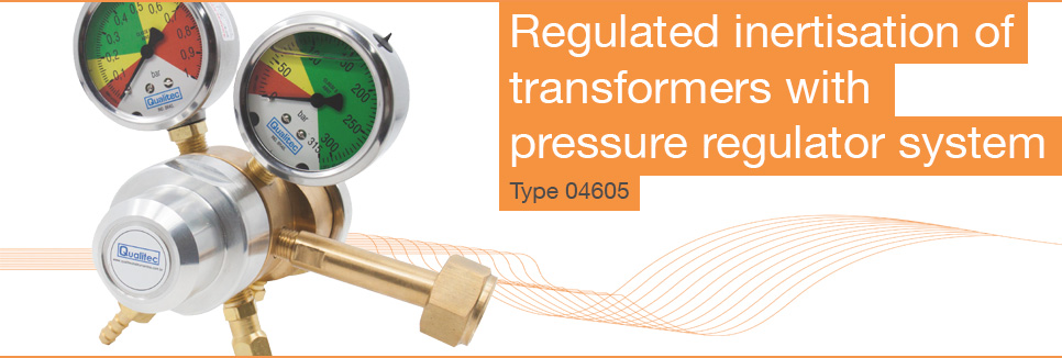 Pressure regulator system type 04605