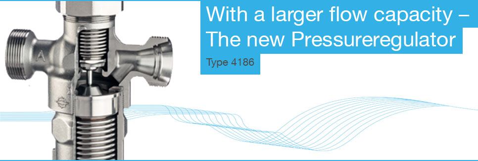 New cryogenic pressure regulator with larger flow capacity