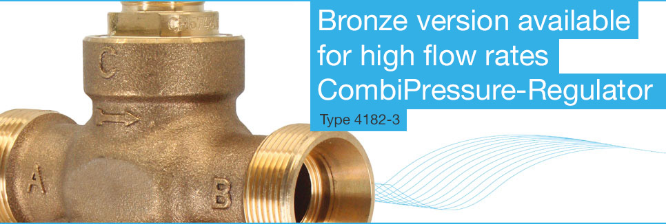 CombiPressure-Regulator Type 4182