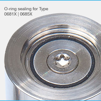 New O-ring variant for safety valves