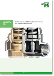 Catalogue Savrty Valves and DIN EN Valves for industrial use